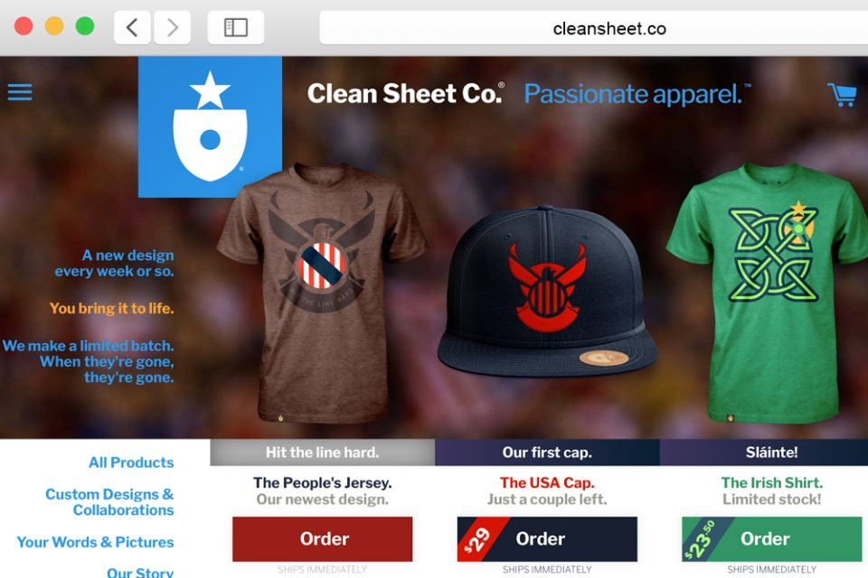 Website: cleansheet.co